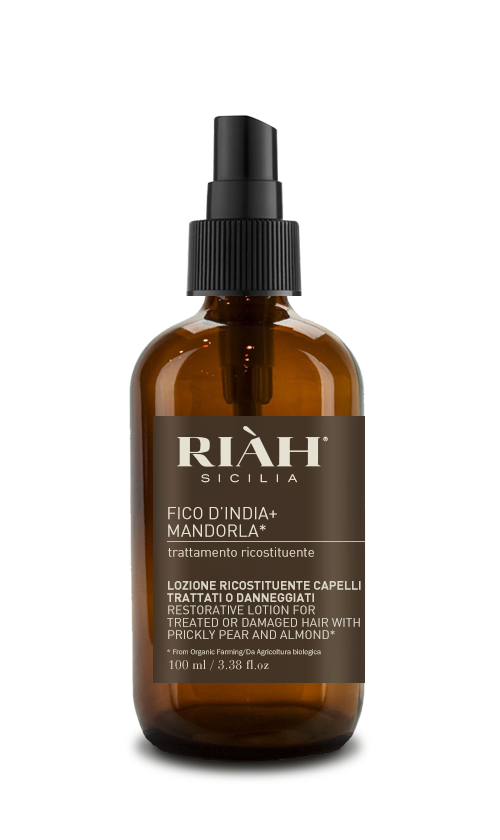 restorative lotion for treated or damaged hair