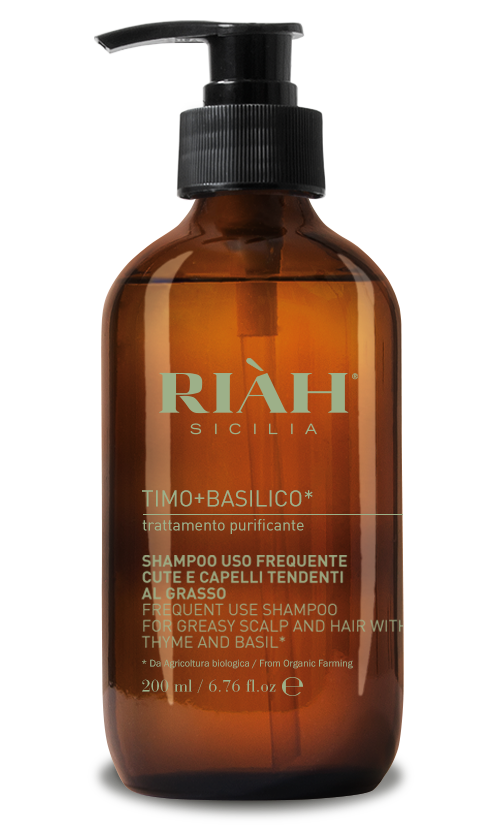 Frequent use shampoo for greasy scalp and hair