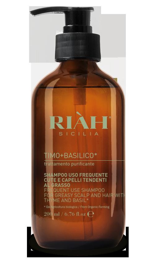 Shampoo uso frequente cute e capelli tendenti al grasso