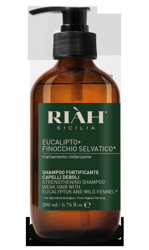 Shampoo fortificante capelli deboli